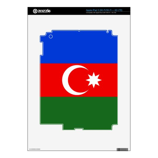 Azerbaijan iPad 3 Skin