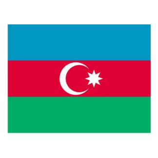Azerbaijan National Flag Postcard