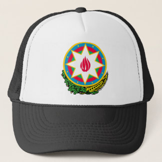 Azerbaijan Official Coat Of Arms Heraldry Symbol Trucker Hat