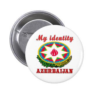 Azerbaijan.png 2 Inch Round Button