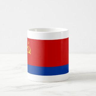 Azerbaijan SSR Flag Classic White Coffee Mug