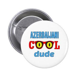 Azerbaijani Cool Dude 2 Inch Round Button