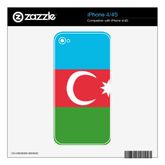 Azerbaijao Skin For iPhone 4