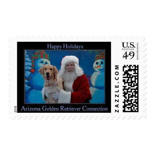 AZGRC Holiday Stamp - Black