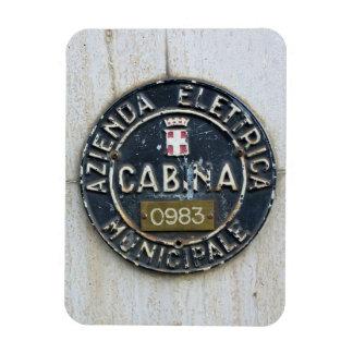 Azienda Electrica Municipale Cabina -Milano, Italy Magnet