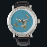 """Azimuthal Equidistant Flat Earth Timekeeping Piece Wrist Watch<br><div class=""""desc"""">Not only is this unit a timekeeping phenomena, it also entices thought, wonder, and conversation; especially if there&#39;s a cartographer in the house. Is there a cartographer in the house? How about an Engineer? Or a very observant person? Open-minded? Aware? Either way, it&#39;s a beautifully coloured map by the numbers,...</div>"""
