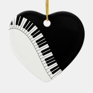 Aziza Keyboard Instruments Christmas Ornaments
