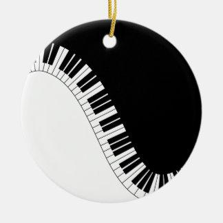 Aziza Keyboard Instruments Christmas Tree Ornament