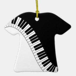 Aziza Keyboard Instruments Christmas Tree Ornaments