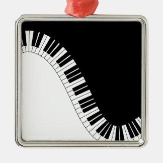 Aziza Keyboard Instruments Christmas Ornament