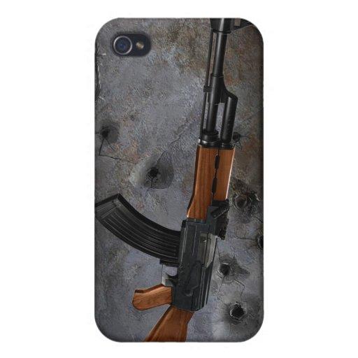 Azmodeus AK-47, caso del iPhone 4 iPhone 4/4S Fundas