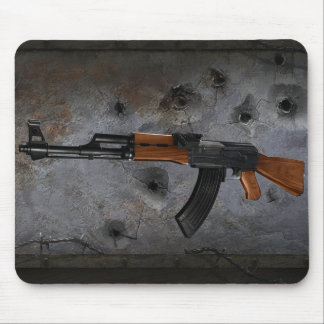 Azmodeus AK-47, cojín de ratón Tapetes De Raton