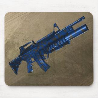 Azmodeus Camo Blue M16, Mouse Pad