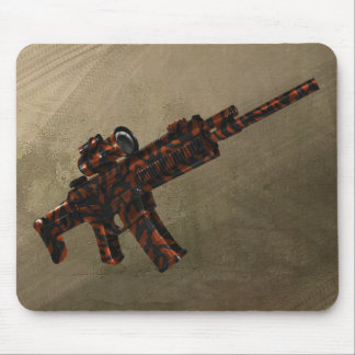 Azmodeus Red Camo ACR Rifle, Mouse Pad