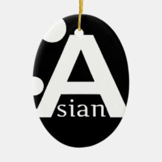 Azn-Style Ceramic Ornament