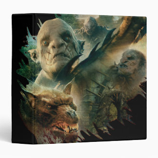 Azog, Narzug, and Bolg Graphic 3 Ring Binder