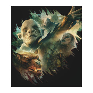 Azog, Narzug, and Bolg Graphic Canvas Print