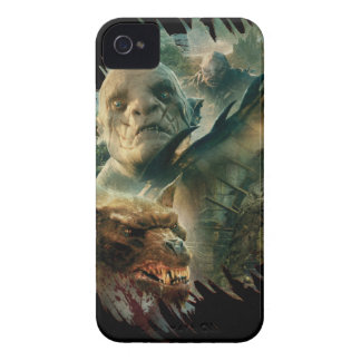 Azog, Narzug, and Bolg Graphic iPhone 4 Case-Mate Case