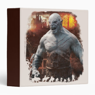 Azog & Orcs Silhouette Graphic Binder