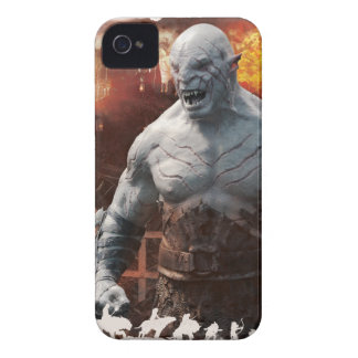 Azog & Orcs Silhouette Graphic iPhone 4 Cover