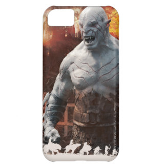 Azog & Orcs Silhouette Graphic iPhone 5C Case