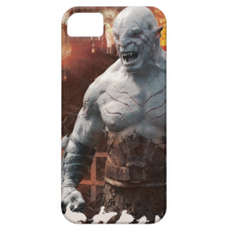 Azog & Orcs Silhouette Graphic iPhone SE/5/5s Case