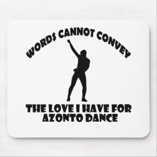 Azonto DANCE DESIGNS Mouse Pad