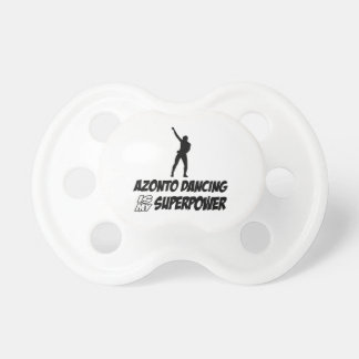 Azonto Dance Superpower Designs Pacifier