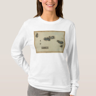Azore Islands Atlas Map T-Shirt
