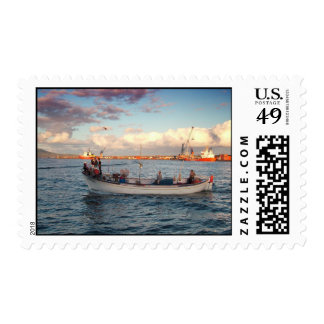 Azorean fishermen postage