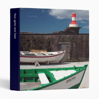 Azorean harbour 3 ring binder