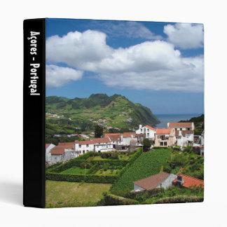 Azorean landscape 3 ring binders