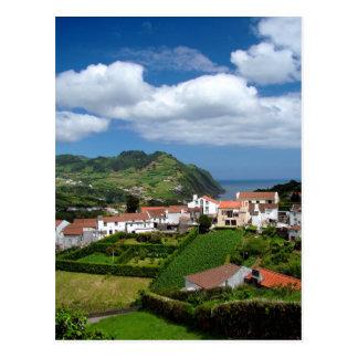 Azorean landscape post cards