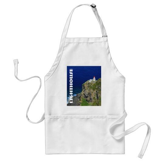 Azorean Lighthouse Adult Apron