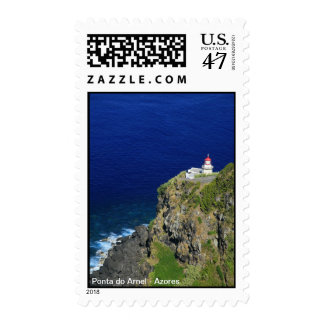 Azorean Lighthouse Postage