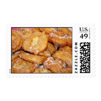 Azorean malassadas postage stamp