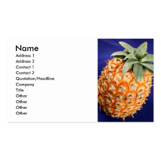Azorean pineapple Double-Sided standard business cards (Pack of 100)
