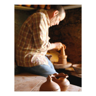 Azorean potter at work flyer