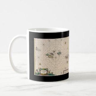 Azores* Antique Map Cup/Caneca Mapa antigo Açores Coffee Mug