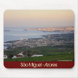 Azores at dawn mouse pad