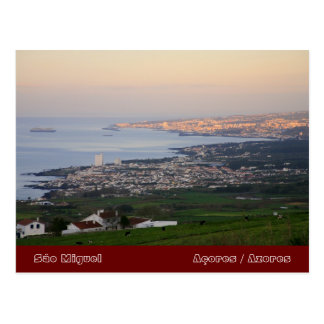 Azores at dawn postcards