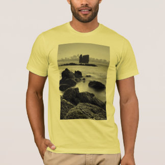 Azores black and white seascape T-Shirt