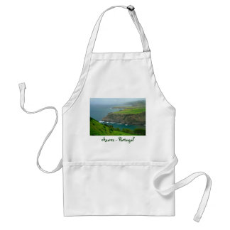 Azores coastal landscape adult apron