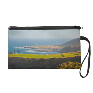 Azores coastal landscape wristlets