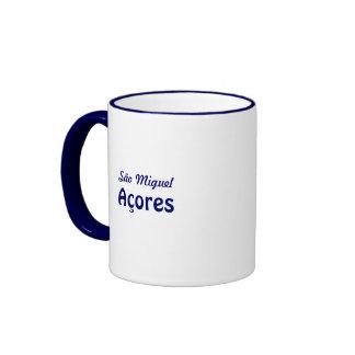 Azores coastal landscape ringer mug