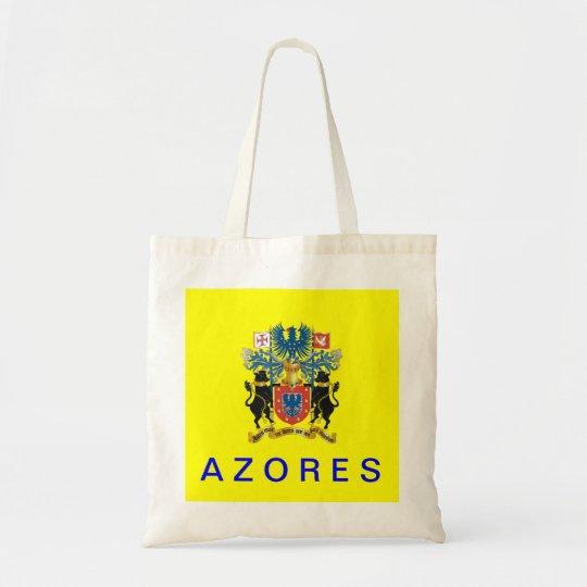 Azores Flag Cotton Bag