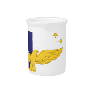 Azores Flag Drink Pitcher