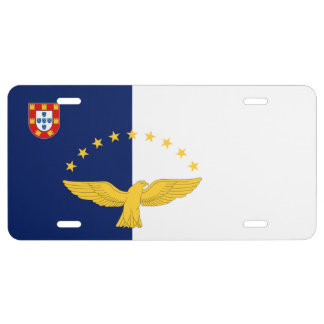 Azores - Flag License Plate
