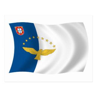 Azores Flag Postcard