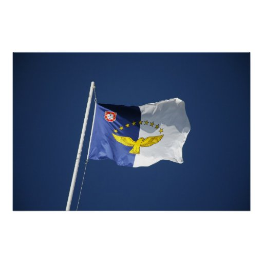 Azores flag poster